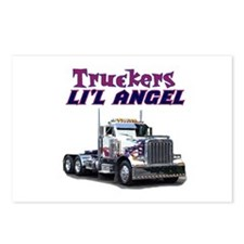 Truckers Li'l Angel Postcards (Package of 8)