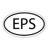 EPS Oval Stickers
