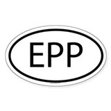 EPP Oval Decal