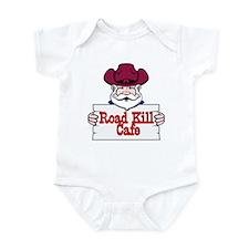 Road Kill Cafe Sign Infant Bodysuit