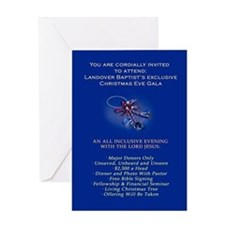 Landover Baptist Christmas Gala Greeting Card