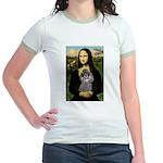Mona / Poodle (s) Jr. Ringer T-Shirt