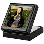 Mona / Poodle (s) Keepsake Box