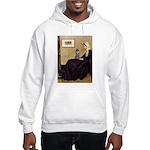 Whistler's / Poodle(s) Hooded Sweatshirt