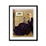 Whistler's / Poodle(s) Framed Panel Print