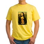 Mona / Poodle (a) Yellow T-Shirt