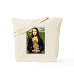 Mona / Poodle (a) Tote Bag