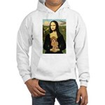 Mona / Poodle (a) Hooded Sweatshirt