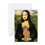 Mona / Poodle (a) Greeting Cards (Pk of 20)