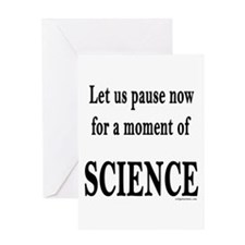 momentofscience Greeting Cards
