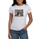 Lilies / 3 Poodles Women's T-Shirt
