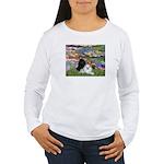 Lilies / 3 Poodles Women's Long Sleeve T-Shirt
