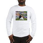 Lilies / 3 Poodles Long Sleeve T-Shirt