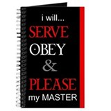 i will Serve, Obey & Please m Journal