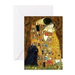 Kiss / Puli Greeting Cards (Pk of 10)