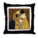 Kiss / Puli Throw Pillow