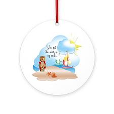 Wind In Sails  Ornament (Round)