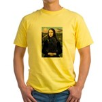 Mona Lisa /Puli Yellow T-Shirt