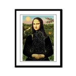 Mona Lisa /Puli Framed Panel Print