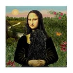 Mona Lisa /Puli Tile Coaster
