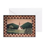 Vermont Church Greeting Cards (Pk of 10)