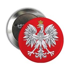 "square polish eagle 2.25"" Button"