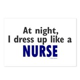 Dress Up Like A Nurse (Night) Postcards (Package o