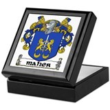 Maher Coat of Arms Keepsake Box