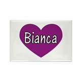 Bianca Rectangle Magnet (100 pack)