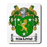 Malone Coat of Arms Mousepad