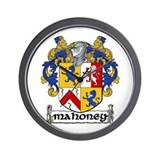 Mahoney Coat of Arms Wall Clock