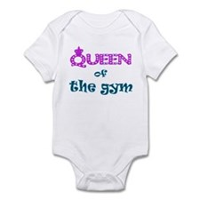 Queen of the gym Infant Bodysuit
