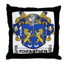 Meagher Coat of Arms Throw Pillow