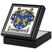 Meagher Coat of Arms Keepsake Box