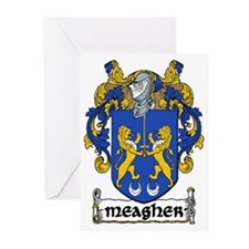 Meagher Coat of Arms Note Cards (Pk of 10)