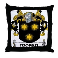 Moran Coat of Arms Throw Pillow
