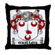Mullen Coat of Arms Throw Pillow