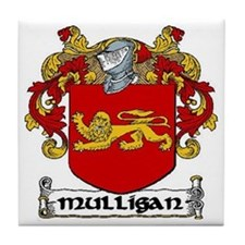 Mulligan Coat of Arms Ceramic Tile