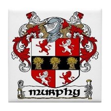 Murphy Coat of Arms Ceramic Tile