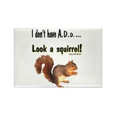 ADD Squirrel Rectangle Magnet (10 pack)