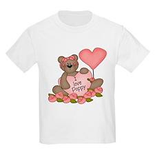 I LOVE Poppy CUTE Bear T-Shirt
