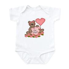 I LOVE Poppy CUTE Bear  Infant Bodysuit