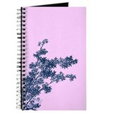 BAMBOO BLUE ON PINK Journal