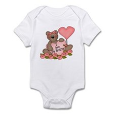 I LOVE My Brother CUTE Bear  Infant Bodysuit