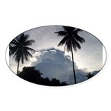 Eclipse in Mindanao Oval Decal