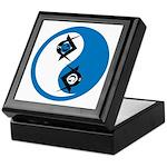 Masonic Yin Yang Keepsake Box