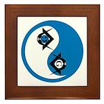 Masonic Yin Yang Framed Tile