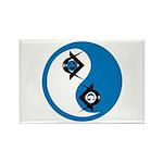 Masonic Yin Yang Rectangle Magnet (10 pack)