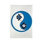 Masonic Yin Yang Rectangle Magnet (100 pack)