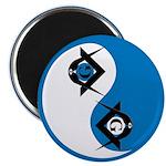 Masonic Yin Yang Magnet